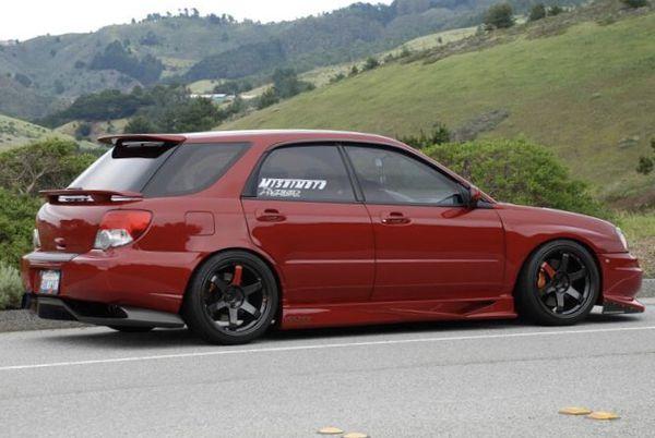 2002 2007 Subaru Impreza Gg Hatchback Carbon Roof Wing Spoiler Ej20 Ej25 Wrx Sti Jdm Boxer Flat4 Bugeye Blobeye Hawkeye For In Carlsbad Ca