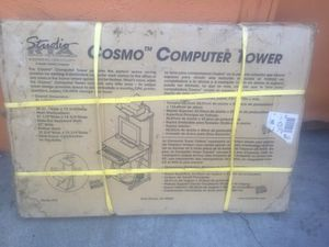 New Cosmo Computer Tower in Blue/Spatter Grey for Sale in Paramount, CA