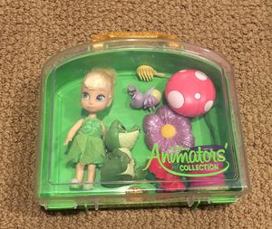 Mini Disney Animator Tinkerbell Doll with case for Sale in Chandler, AZ
