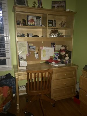 Kids pottery barn desk and chair for Sale in Vienna, VA