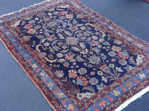 Antique Persian Sarouk rug 3'x 5' for Sale in Rockville, MD