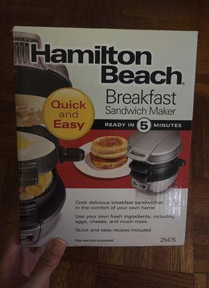 Breakfast sandwich maker for Sale in New York, NY