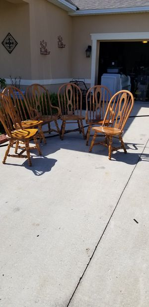 6 chairs for Sale in Kissimmee, FL