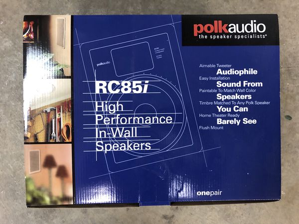 polk audio rc85i