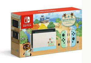 Photo Nintendo Switch Animal Crossing:New Horizon