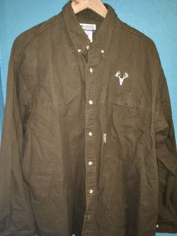 Columbia adult xl long sleeve shirt Thumbnail