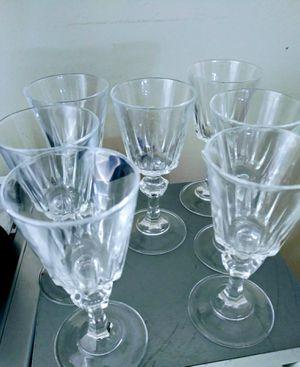 Vendo 7 copas de cristal for Sale in Long Beach, CA