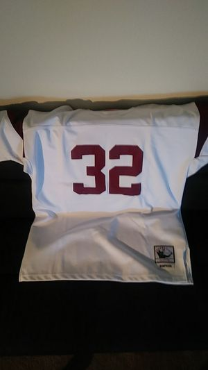 hot sale online 3a30f 073ca OJ Simpson Mitchell and Ness Throwback Jersey Size 52 for Sale in Seattle,  WA - OfferUp