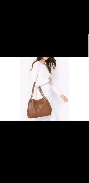 f9e0061d03aa Garden Grove, CA. NEW Michael Kors MK Raven Large Tote BAG leather shoulder  ACORN BROWN HANDBAG PURSE BAG $298