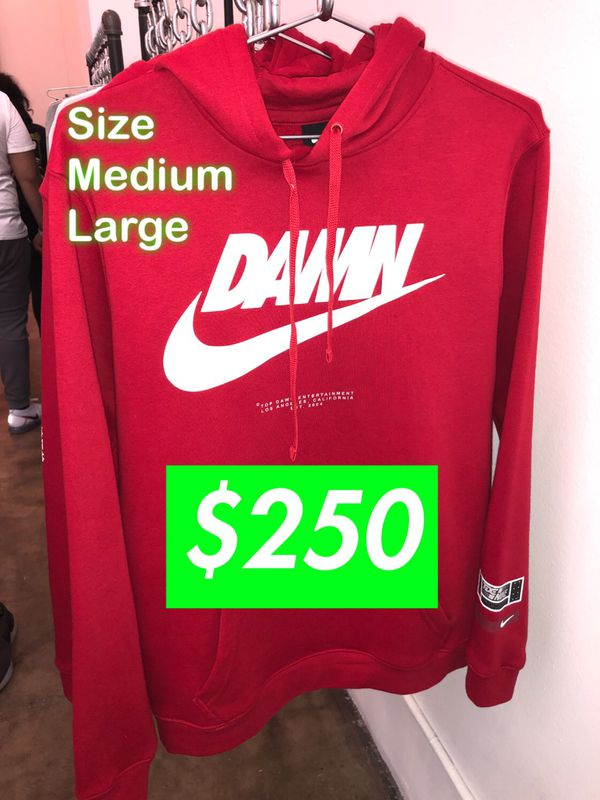 bed16488bbe10 TDE NIKE DAMN Red Hoodie Size Large and Medium for Sale in Los Angeles