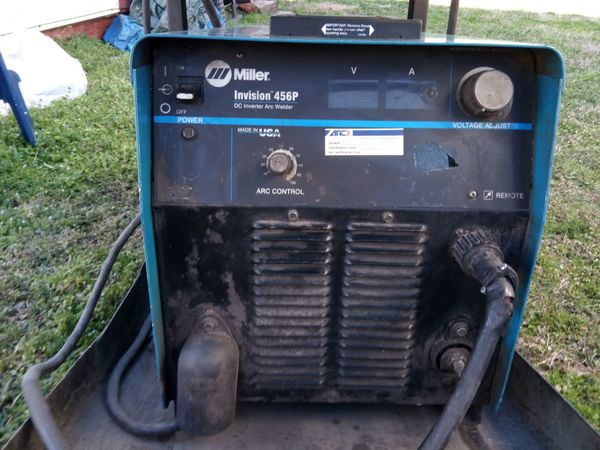 Miller Arc Welder >> Miller 456 Arc Welder For Sale In Lexington Nc Offerup