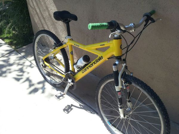 ac080dc6e40 Mens Cannondale Cad2 F500 mountain bike for Sale in Yucaipa, CA - OfferUp