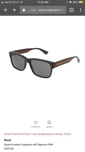 Like new Gucci Sunglasses or trade in for PS4 for Sale in Baltimore, MD