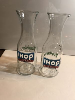 Ihop Tropicana Juice Glasses Vintage Great Gift for Sale in Raleigh, NC