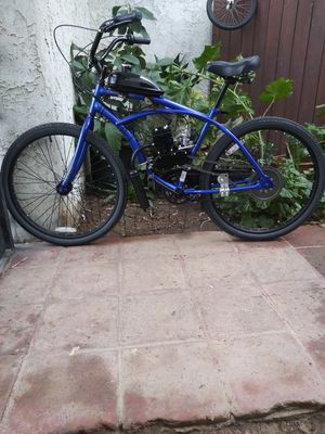 Photo Beach Cruiser Motorized Bike( Brand new motor)