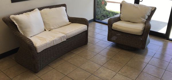 Patio 1 Outdoor Furniture Sofa And Chair Houston
