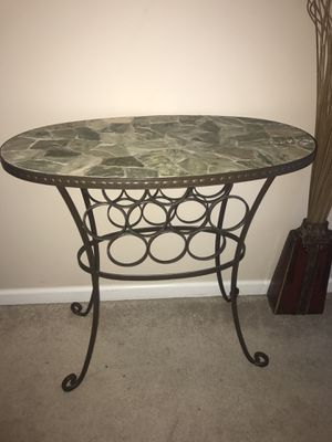 Stone Top Wine Rack and Table 31.5 x 17 for Sale in Apex, NC