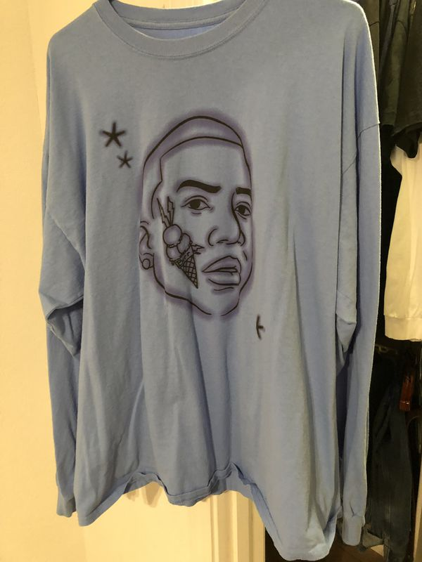 51db8c5ab43d Superrradical Gucci Mane Blue Long Sleeve T-shirt for Sale in Selma ...