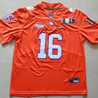 official photos 75c2f 0e2fb Clemson 2019 Tervor Lawrence Championship Jersey for Sale in Williamston,  SC - OfferUp