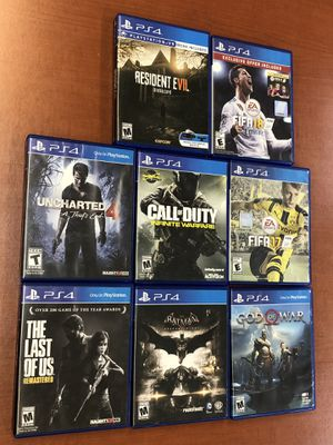 Juegos PS4 $20 c/u for Sale in Richmond, VA