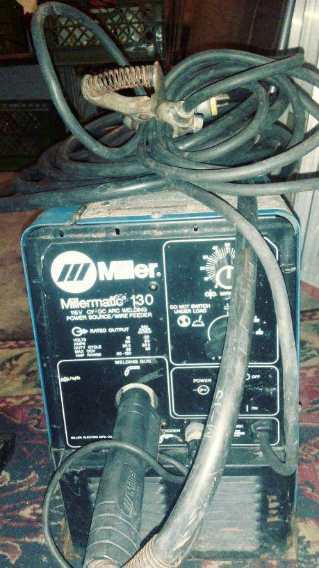 Millermatic 130, 115V, wire feed welder for Sale in Phoenix, AZ ...