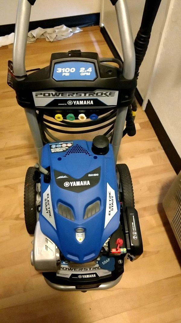 Yamaha Ma190 Pressure Washer