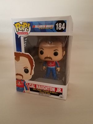 Cal Naughtin Jr Talladega nights funko pop collectible toy for Sale in Lancaster, CA