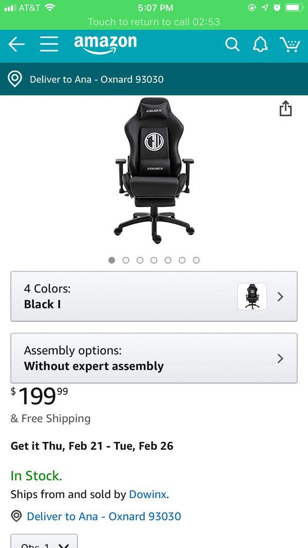 Sensational Dowinx Gaming Chair Ergonomic Office Recliner For Computer Evergreenethics Interior Chair Design Evergreenethicsorg