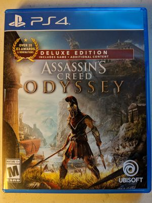 Assassin's Creed Odyssey PS4 for Sale in Washington, DC