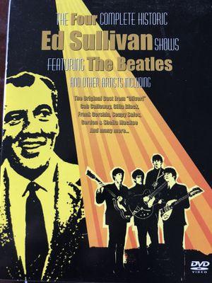 ED SULLIVAN BEATLES DVD for Sale in Reston, VA