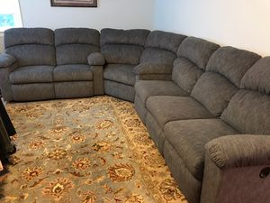 Lazyboy sectional... almost new...only selling because moving and no space in new house for Sale in Burke, VA