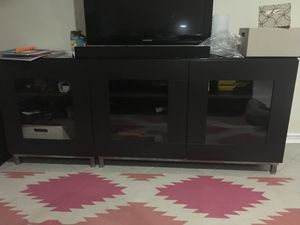 Ikea 3 piece tv stand/ book case for Sale in Oakton, VA