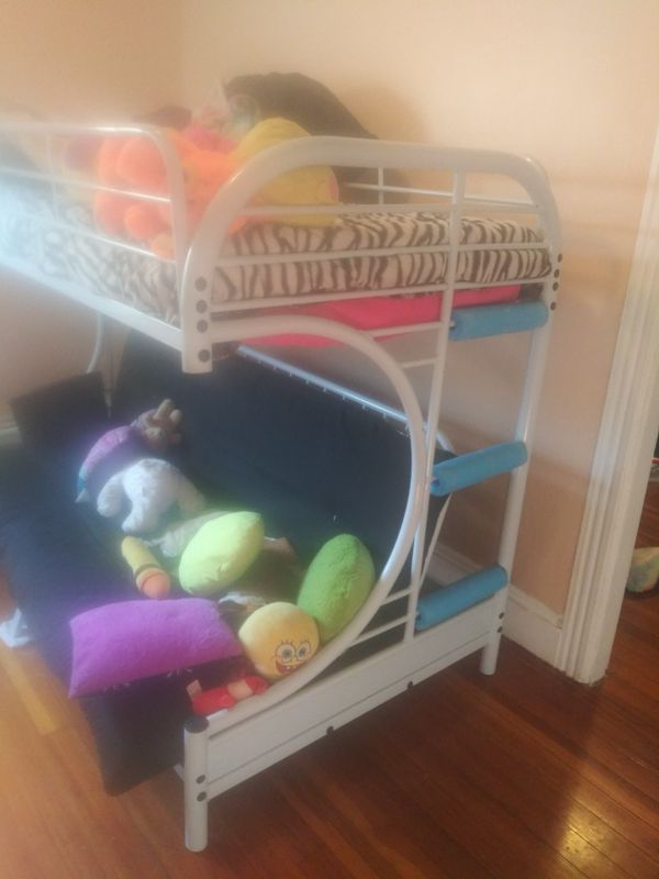 Bunk Bed Good Condition Comes With Futon Just Nees Twin Mattress