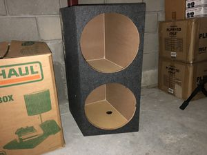 """2 15"""" subwoofer boxes. for Sale in Clermont, FL"""
