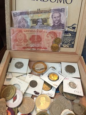 Assorted coins from various countries for Sale in Atlanta, GA