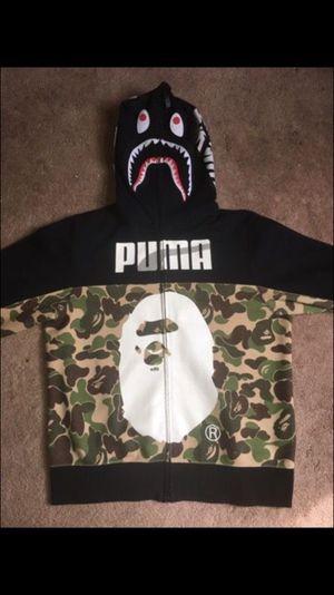 Bape x Puma Hoodie - Size XL for Sale in Rockville, MD