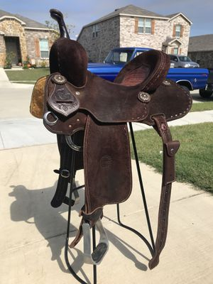 Barrel Saddle for Sale in Saginaw, TX - OfferUp