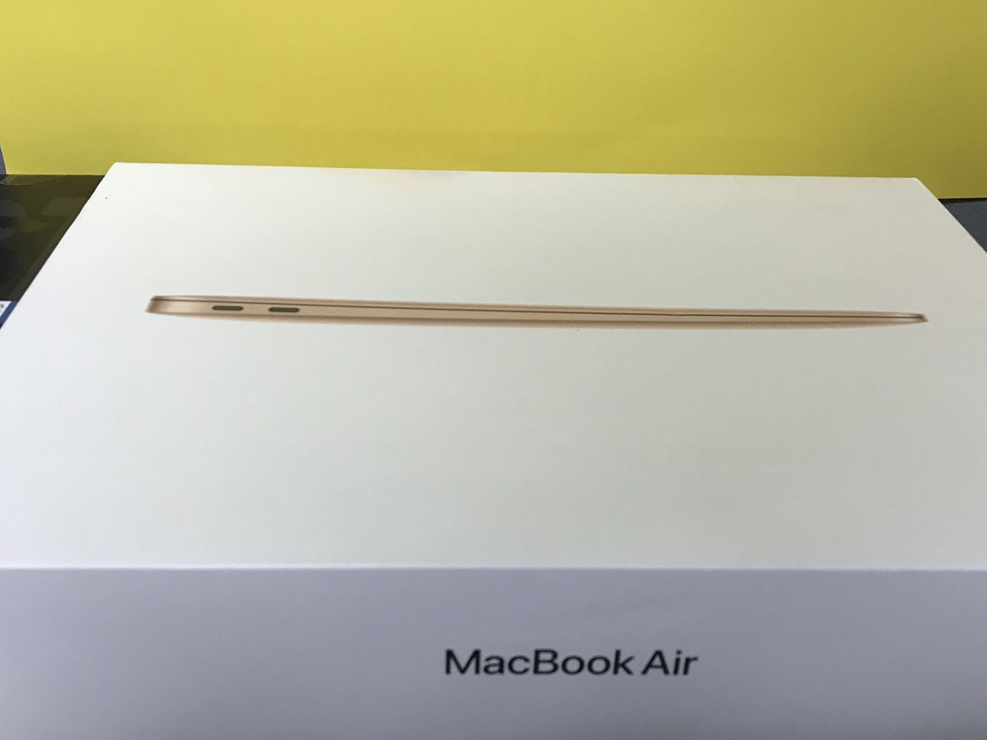 2020 MacBook Air Rose Gold New Sealed In Box Withn1 Year Apple Care Finanacing Available For 54 Down No Credit Needed Take Home Today