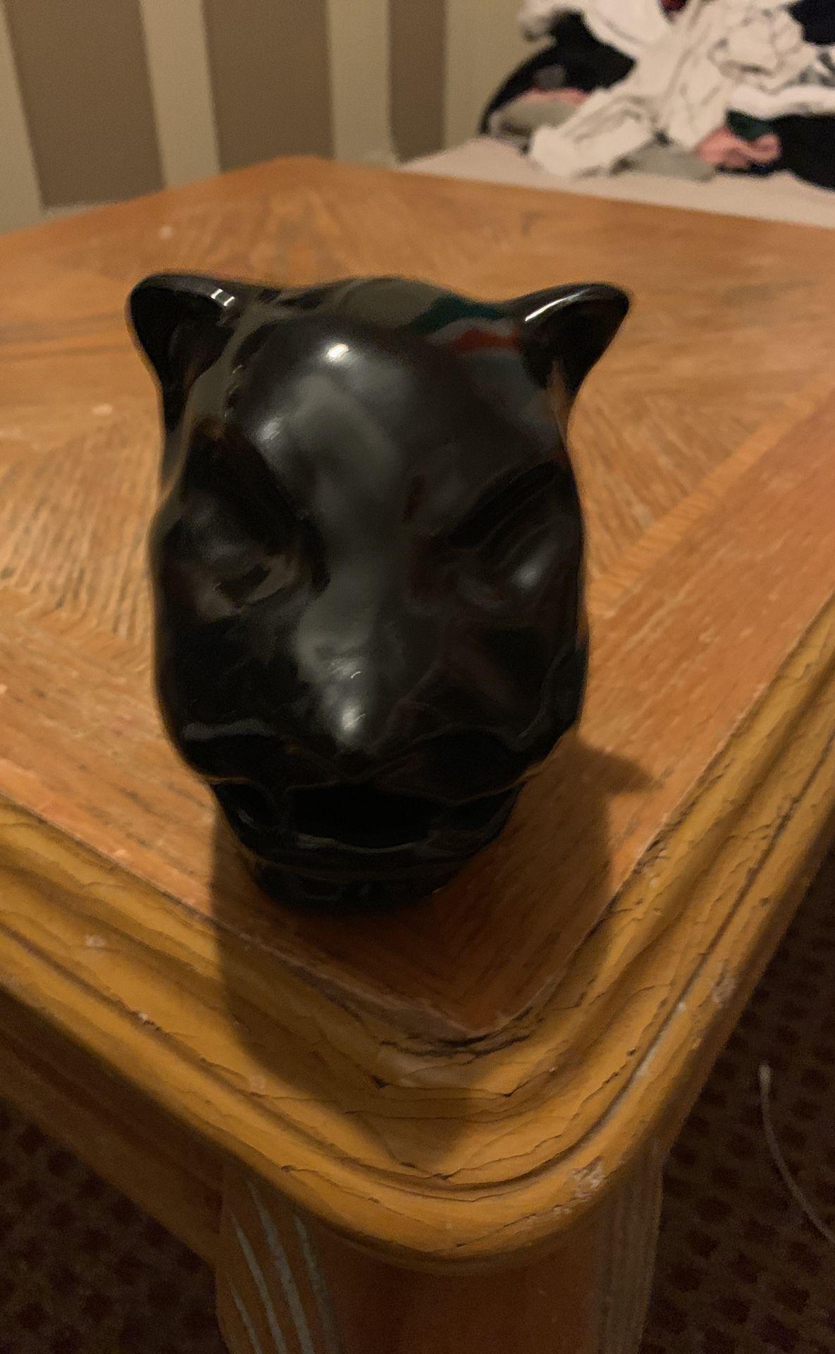 Sculpture of panther
