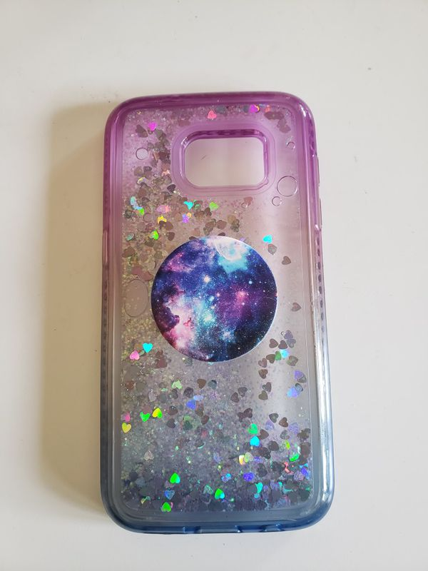 size 40 5239e 119a8 Galaxy S7 case with pop socket for Sale in Marengo, IL - OfferUp