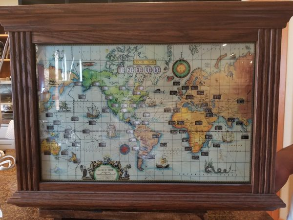 Vintage howard miller world clock for sale in graham wa offerup gumiabroncs Choice Image