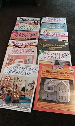 12 dollhouse miniature books for Sale in Pittsburgh, PA