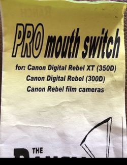 Pro Mouth Switch for camera Thumbnail