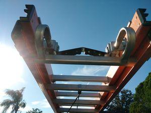 Werner Fiberglass 28 ft ladder with Hooks for Sale in Deltona, FL