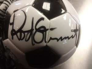 Authentic autographed Rod Stewart soccer ball - 400 OBO for Sale in Burien, WA