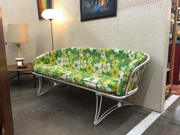 vintage mid century modern homecrest patio sofa loveseat general