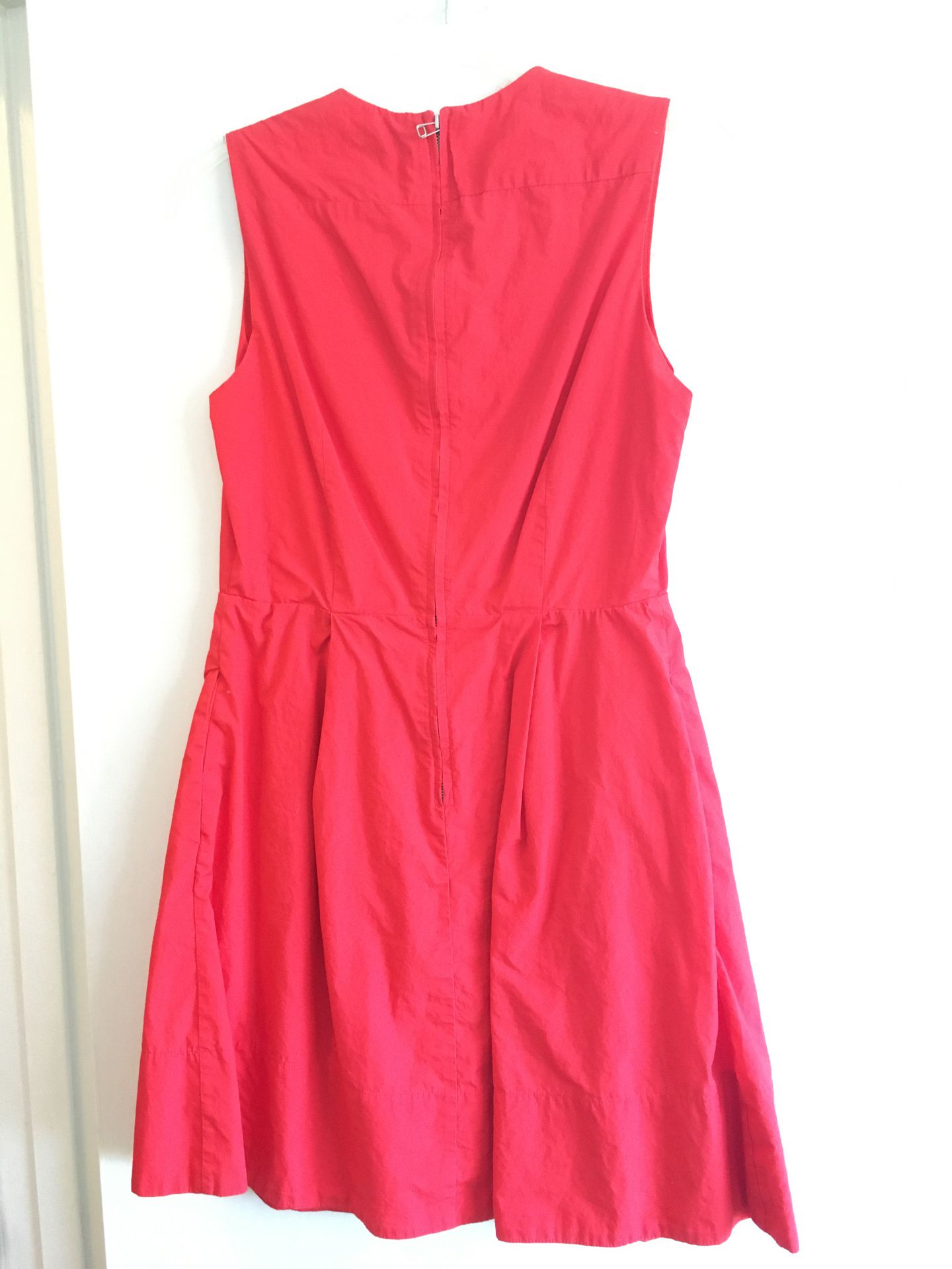 Red dress size 4