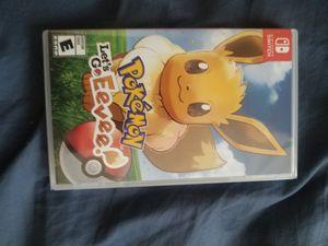 Sealed Pokemon lets go Eevee for Sale in Arlington, VA