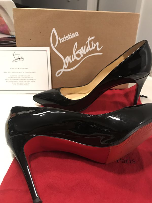buy popular 99449 11478 Christian Louboutin Simple Pump 85mm Black Size 40 (US 9) for Sale in  Seattle, WA - OfferUp