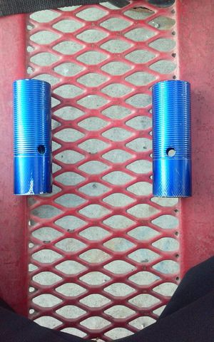 A Pair of Blue Bicycle Pegs (Two Blue Pegs) for Sale in Salt Lake City, UT